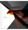 Abstract colorful overlapping composition vector