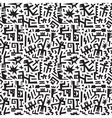 Robots - abstract seamless background vector