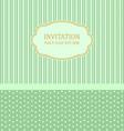 Invitation design template vector