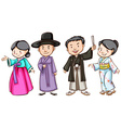 Asian people vector