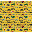 Motorcycles background pattern vector