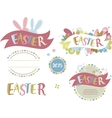 Happy easter - set of elements vector