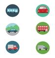 Cars icon set vector