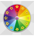 Wheel of fortune vector