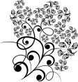 Floral tattoo vector
