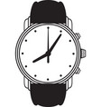 Symbol wristwatch vector