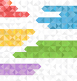 Abstract geometric background of color blocks vector