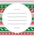 Merry christmas greeting card54 vector