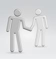 Shake hands deal vector
