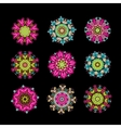Set of floral arabesque for your design vector