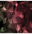 Polygon abstract texture in dark elegant vector