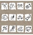 Horoscope zodiac set vector