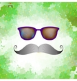 Retro glasses with reflection eps 10 vector