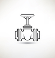 Valve symbol vector