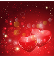 Loving hearts vector