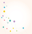 Network color technology communication background vector