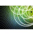 Halftone circles vector