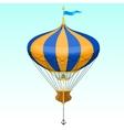 Cartoon air balloon vector