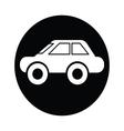 Car symbol icon vector