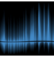 Blue drapes reflected background 10eps vector