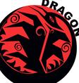 Chinese horoscope dragon vector