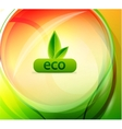Colorful eco background vector