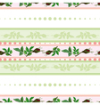 Seamless pattern of roses and of stripes vector