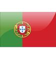Portuguese flag vector