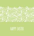 Happy easter banner vector