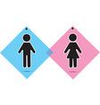 Men and women icon vector