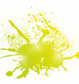 Colorful abstract splash vector