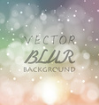 Abstract blur bokeh bright color background vector