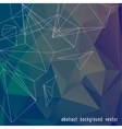 Abstract color triangle background vector