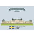Drottingholm palace vector