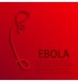 Modern ebola elemenr design vector