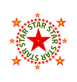Star red vector
