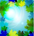 Paper leaf vector