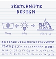 Doodle start up design vector