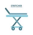Stretcher design vector
