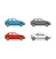 Collection web icons car and set vector