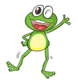 A frog vector