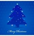 Merry christmas vintage design greeting card vector
