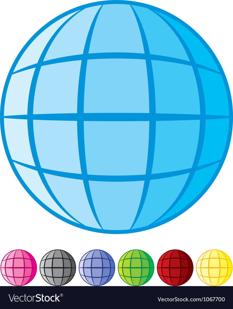 Abstract globe design vector | Price: 1 Credit (USD $1)