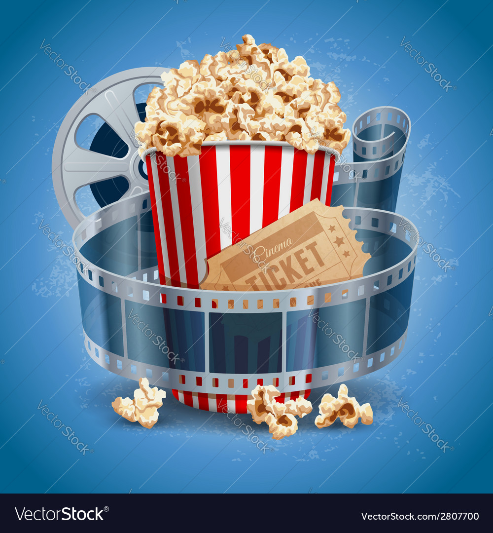 Cinema still life vector | Price: 3 Credit (USD $3)