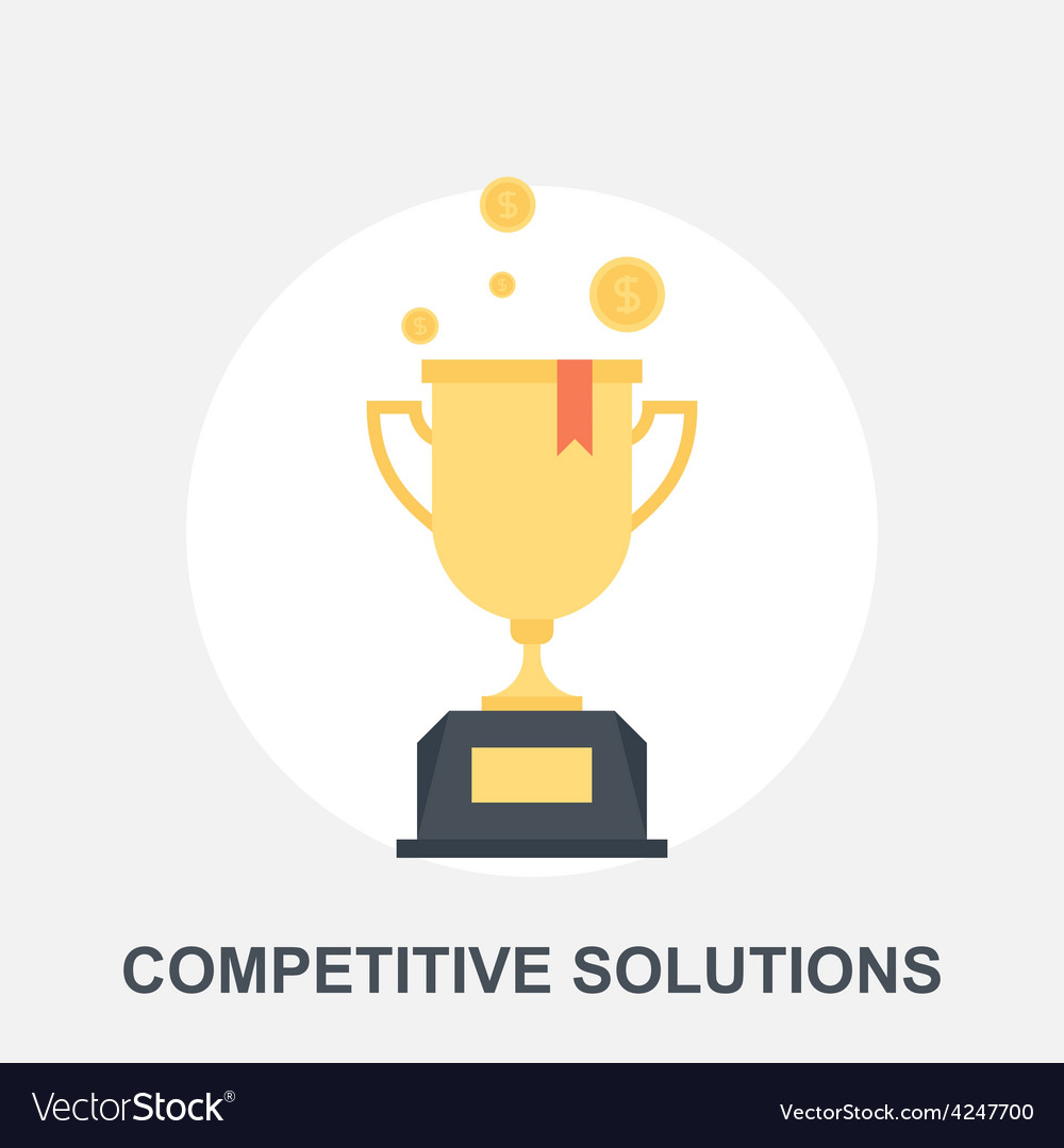 Competitive solutions vector | Price: 1 Credit (USD $1)