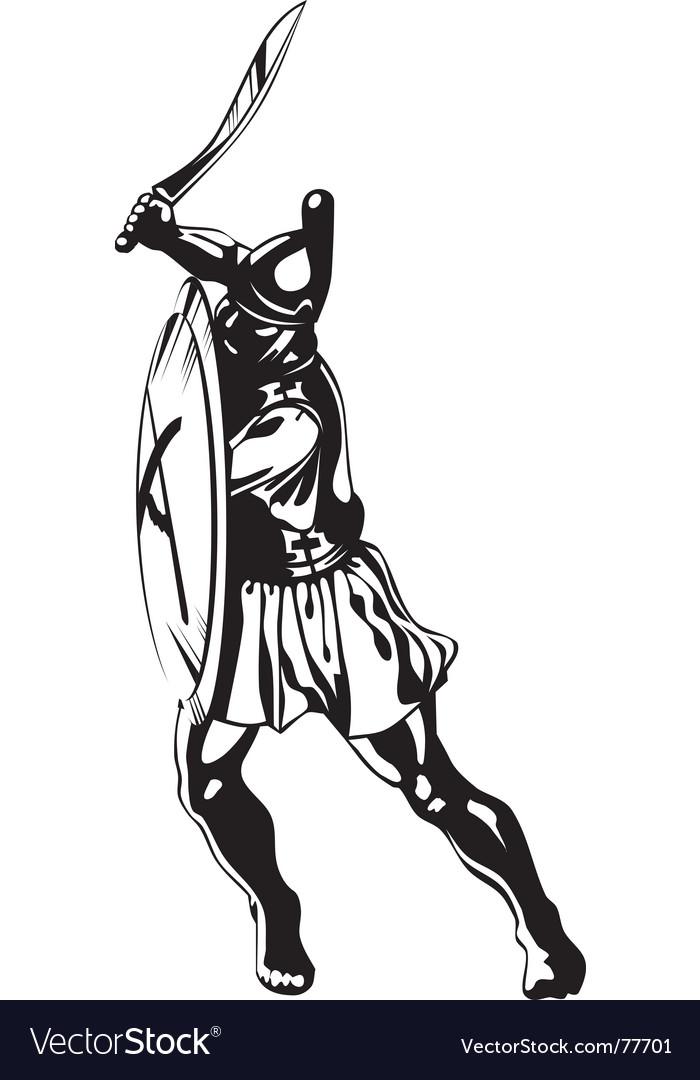 Ancient greek hero vector   Price: 1 Credit (USD $1)