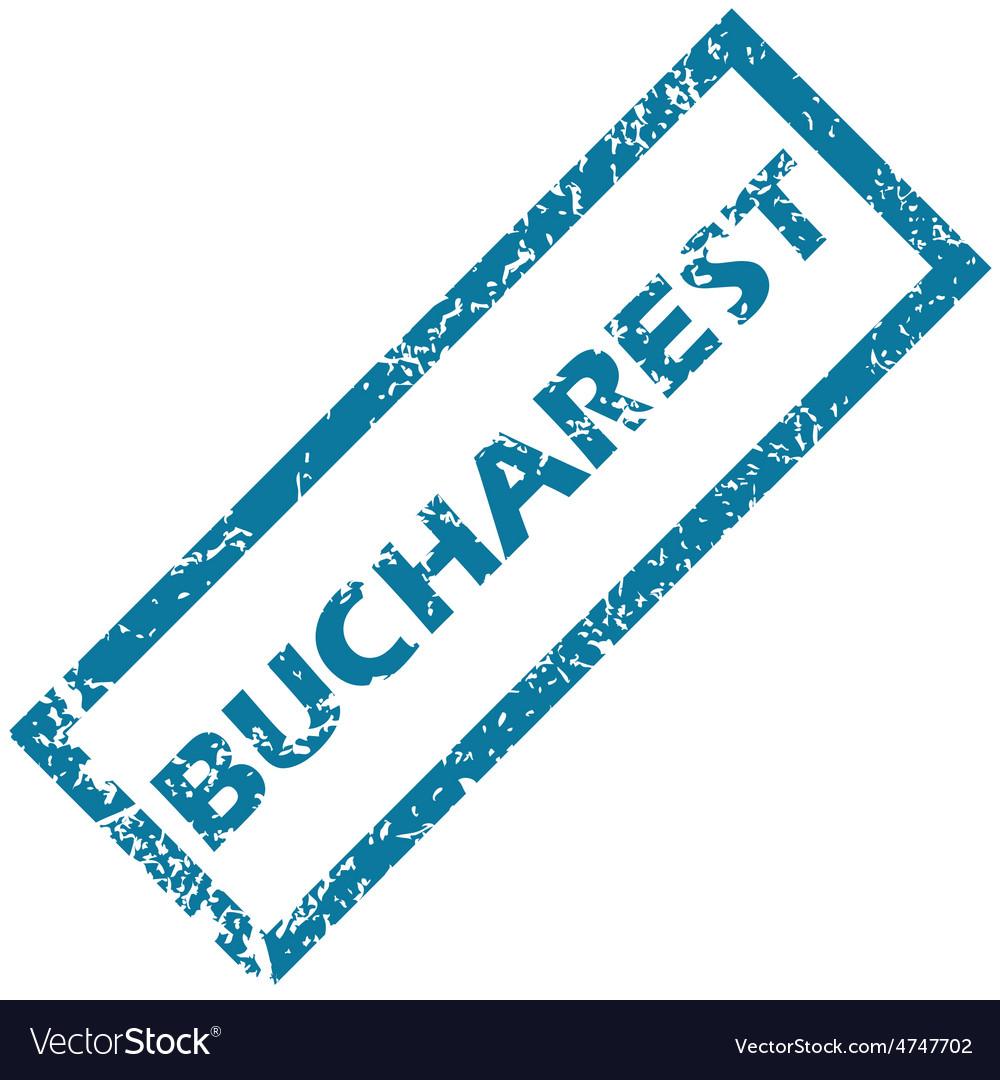 Bucharest rubber stamp vector | Price: 1 Credit (USD $1)