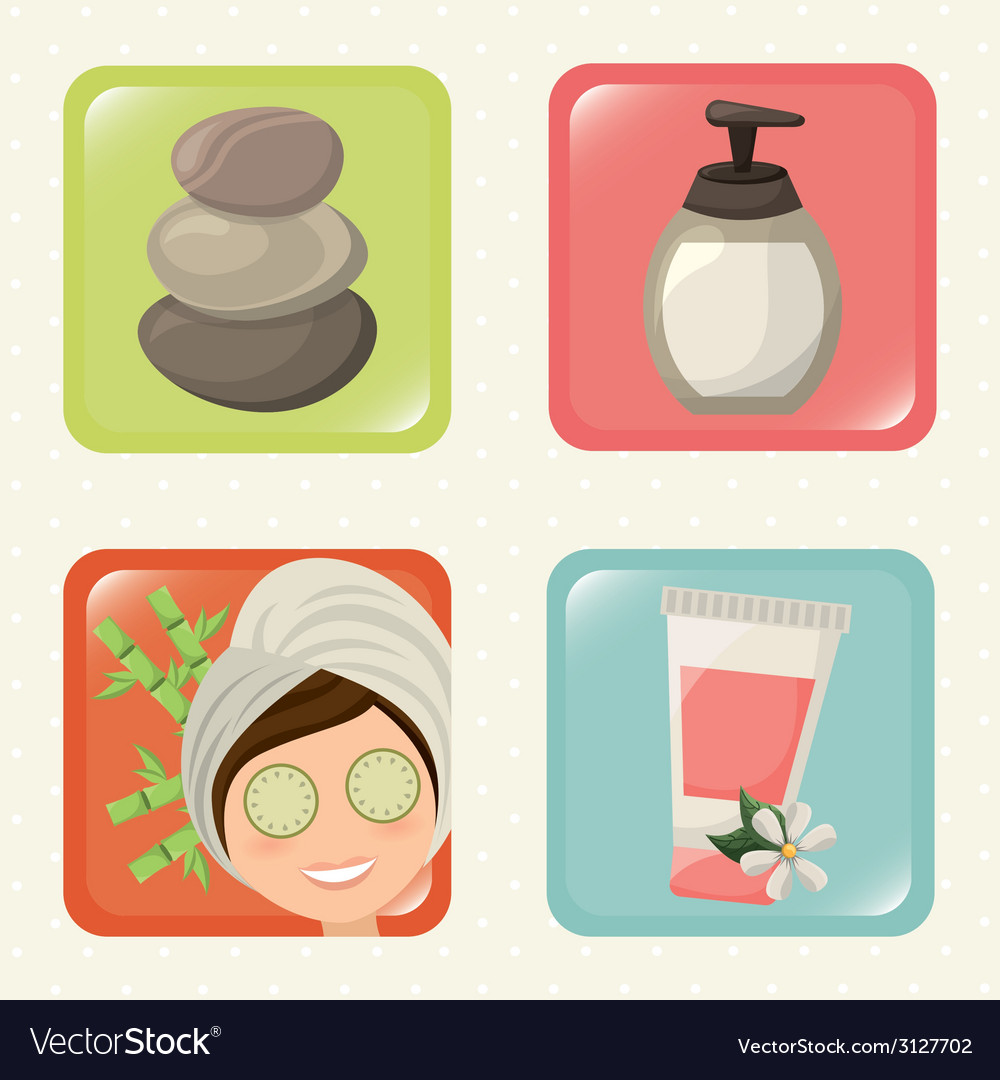 Spa design vector | Price: 1 Credit (USD $1)