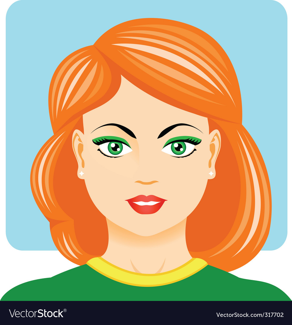 Sporting woman portrait vector | Price: 3 Credit (USD $3)