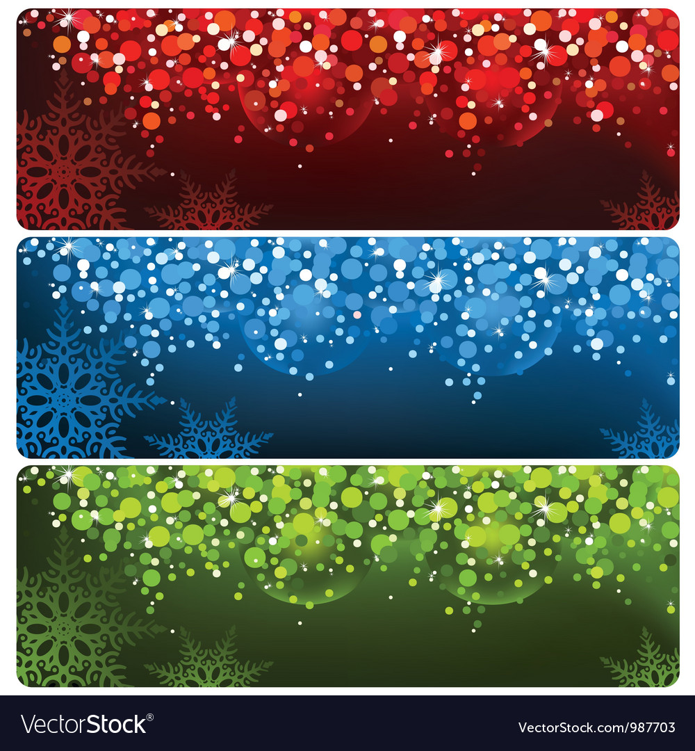 Abstract christmas banner vector | Price: 1 Credit (USD $1)